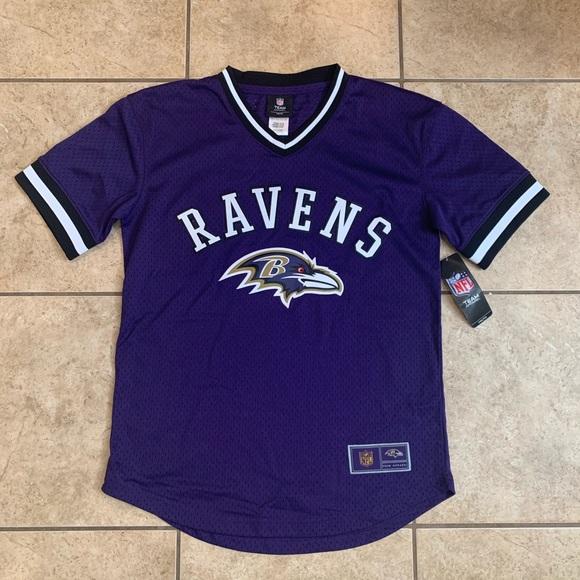 NFL Baltimore Ravens Baseball Jersey - Youth L